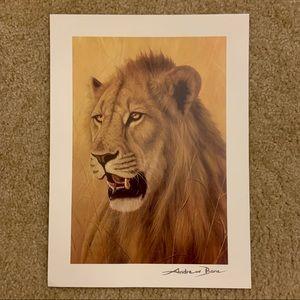 "Andrew Bone ""Young Warrior"" Art Print"